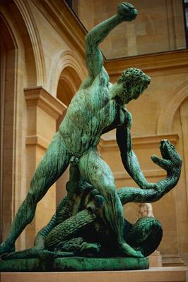 Hercule terrasse Acheloüs