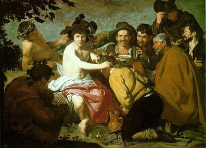 Velasquez : Le triomphe de Bacchus