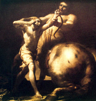 Giuseppe Maria Crespi 1665-1747: Chiron et Achille